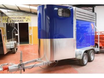 Van de Aluminio 2 caballos 2018 con portamaratón