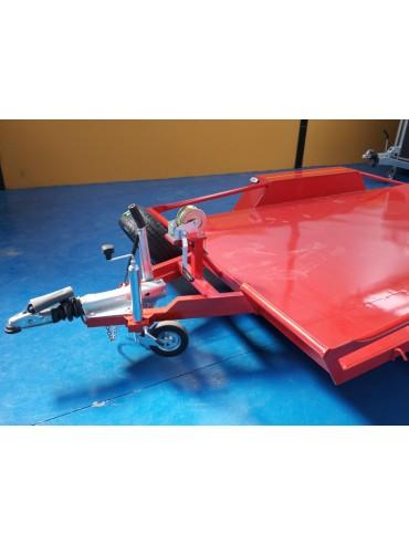 Remolque Plataforma 2 ejes con freno