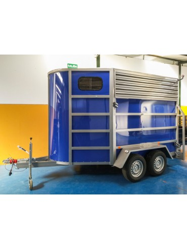 Van de Aluminio 2 caballos diagonal