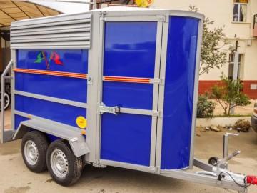 Van de Aluminio 2 caballos