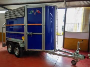 Van de Aluminio con Portamaratón