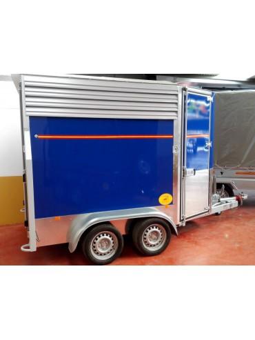 Van de Aluminio 2 caballos 2017