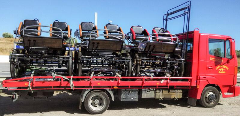 Transporte de Remolques y Carruajes Clarines